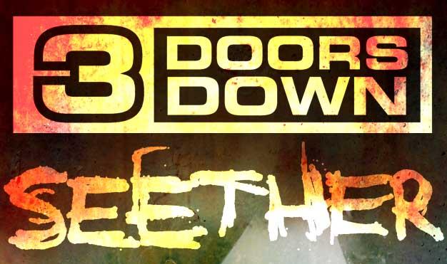 3 Doors Down & Seether