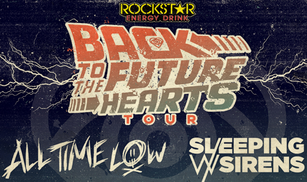 ALL TIME LOW & SLEEPING WITH SIRENS:<br>Back to the Future Hearts Tour