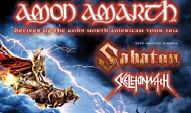 Amon Amarth - Deceiver of The Gods Tour