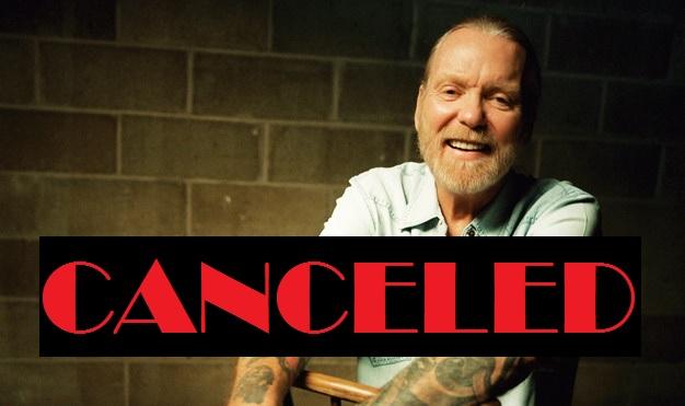 Gregg Allman- CANCELED