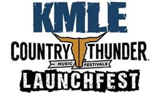 KMLE Country Thunder LaunchFest