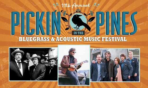 11th Annual Pickin' in the Pines Bluegrass and Acoustic Music Festival