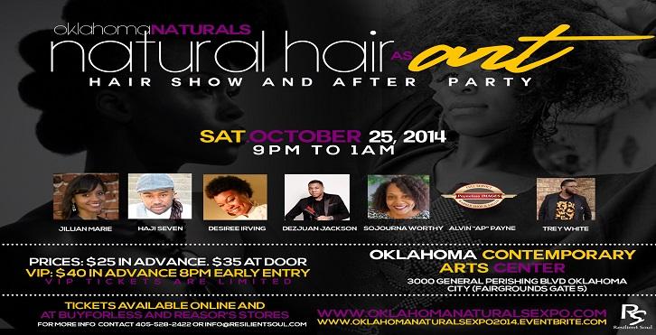 Oklahoma Naturals - Natural Hair As Art