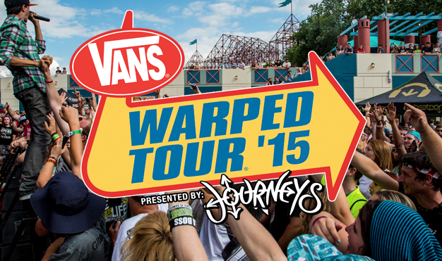 VANS WARPED TOUR<br>PRESENTED BY JOURNEYS