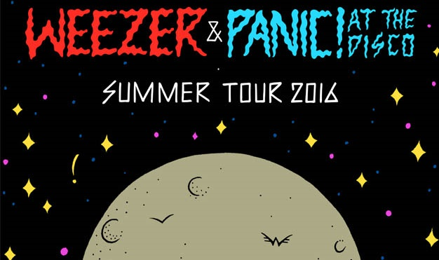 Weezer and Panic! at the Disco<br> Summer Tour 2016